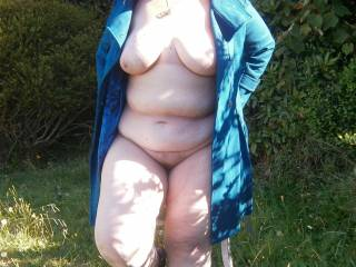 Naked outdoors. My ultimate turn-on.