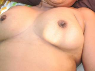 I would like to be lying with you and sucking on your lovely sexy nipples