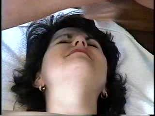 she loves to open wide for a mouth full of hot cum