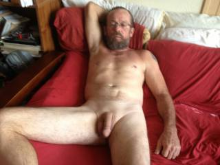 Looking for a lady to join us and play with fresh shaved cock