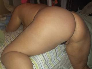 Another favorite position. Bend me over the bed!