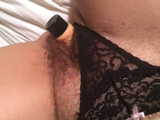 Gorgeous wet cunt. My ex and I exchanging gifts. She wrapped hers up in nylon and lace. Best Christmas in a long time.