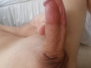 Ready to sit on my fat cock?