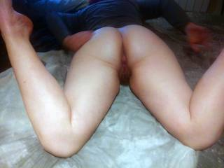 Ready and waiting for a BBC to fill her.... Big cocks, send us a cock tribute pic for a special pic in return ;)