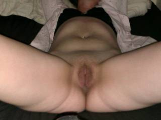 i would love to get this big fat cock in that wet tight pussy hunny but only on one condion i want you and her both in the same room as im pounding her pussy i wany you to be sucking fucking her tit or we can dp her if you guys want to it sounds like a really good idea to me but thats all up to you guys