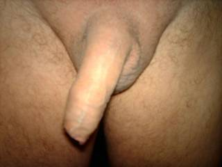 I wish that I could lick up and down your cock and then close my lips round your cock and push forward so that I could push your foreskin back has I sucked you deep into my mouth mmmmm