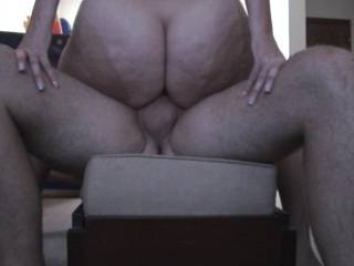 Amazing view of her very sexy cock-hardening ass!  I LOVE her cheeks, and could look at her naked ass all day. I hope there is a lot more to follow!