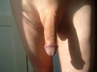 Another great shadow pic! Up or down that is a hot cock.