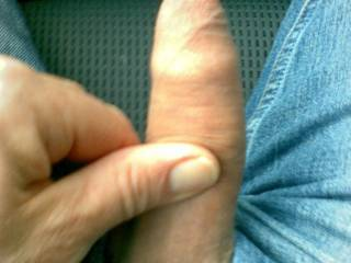 Yesterday i got so fucking horny in the car - need to wank while driving....... No.1
