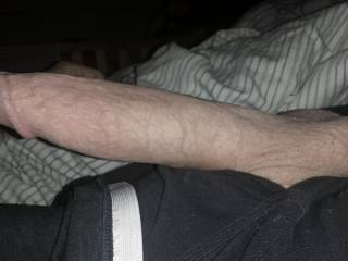 When I come to with morning wood like this, the ache to FUCK is so severe, I have to immediately begin stroking. I even put off relieving myself until after a good heavy cum load is released.