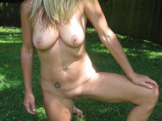 Playing outside!
