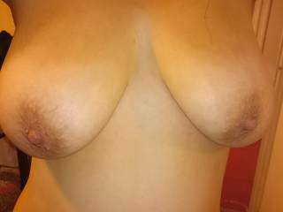 Love flashing my tits