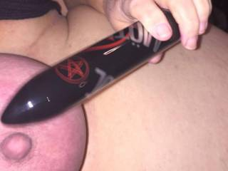 Dove67 plays with rope and vibe. She cums repeatedly as I wank over her. Amazing gorgeous slut x