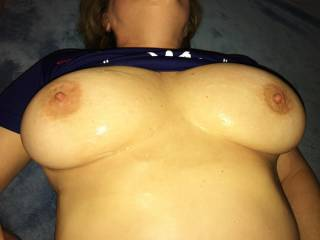 Who wants to add more to this sticky superbowl cum party?