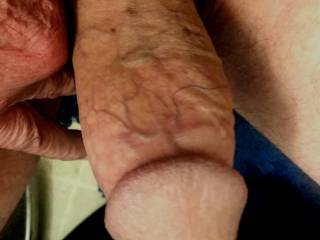 Old 67 year old cock out fir a spin 💦💦
