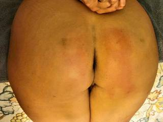 Bond, flogged, paddled and waiting to get her holes filled. Shes a happy slut. Sir