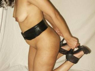 OMG - Just hold on to your heels while I slip something into you mouth