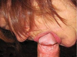 Love to suck a cock and swallow cum...