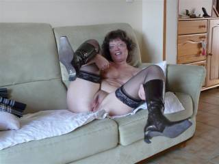 I would slide my fat cock deep in your wet pussy...you`d feel my stiff rod drilling your cunt over and over again !!!