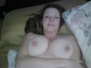 very nice girl, nice big juicy tits