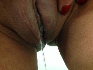 Beautiful. Would love to be licking and sucking every drop of your pussy juices
