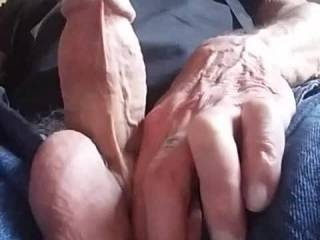 Playing whit my cock watching friend's cock's & pussy yummy