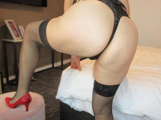 My butt\'s got a little bigger as I\'ve matured, but hubby still loves the sight of it.  I hope you do too.