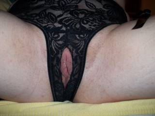 I would certainly love to fuck you while you are wearing your panties, I would love to fuck you while you wear any pair of panties, just pulled to the side and full of your pussy juice, hmmmmmmmmmm delicious!!!!