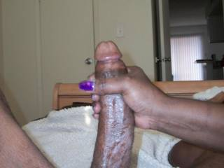Friends Wife Stroking My Huge Cock