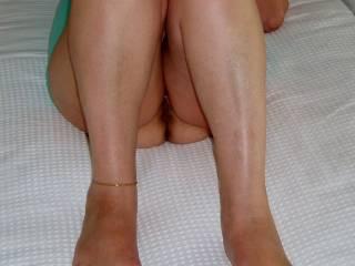 Do you like her feet and legs?