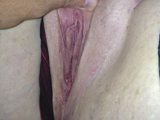 my pussy waiting to be fucked
