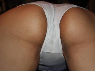 Would love to peel those off spank that lovely butt and take a long hard test ride