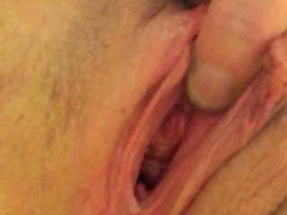 Both! I want to watch and hear you cum. Then I want to watch your husband slide his cock into your pussy and cum. Next I want to make you cum a third time with my cock in your pussy and my tongue on your clit.