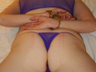 See that area where your knickers cannot be seen? That is where my tongue is going to go. Thoughts please.X