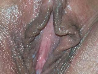 MMMMM I LOVE those pussy lips of yours!!! Your pussy looks so nice and wet, my cock would slide in so nice!!!