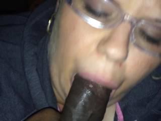 lil nasty fat sex slave eating dick
