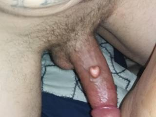 My husband loves his big dick in my hot wet pussy.