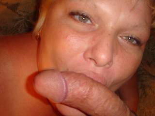 i hope me...i luv ur beautiful eyes, it be so hot to see u staring up at me on your knees, with your mouth full of my cock.