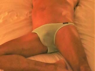 Love to wear see through Nylon Panties.