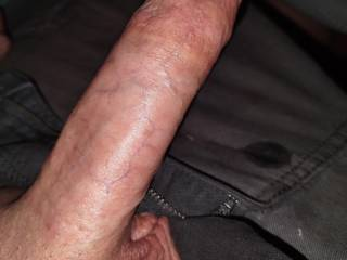Bored and stroking in my car somebody messaged me come help me out