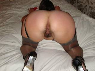 wife bent over for fucking