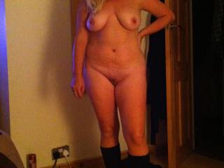 Posing for men to take my picture before getting down to my job as a submissive sex slave xxx