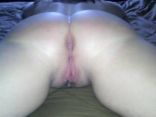 WOW what an amazing ass!! Both your sexy holes look soo inviting.