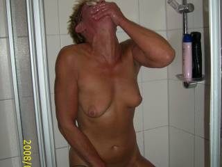 masterbation in the shower, great cumming