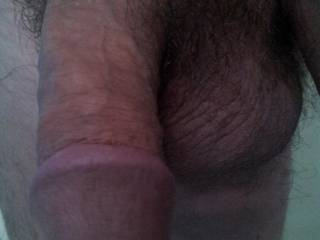 My mans lovely soft cock..not gonna be soft for long...
