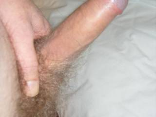 Mmmm, Love to lick it all over. Then suck you nice n hard while I wank my cock, finishing with cumming all over your sexy cock..