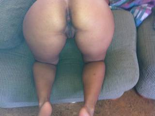 WOW! ... she looks excellent in the doggy style position & I would love to fuck her & blast half my load inside her, then pull out & blast the other half on her gorgeous ass.