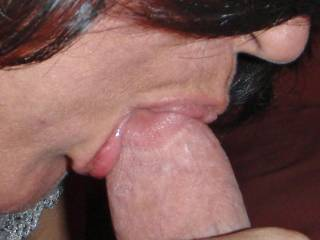 I love having my mouth filled with hard cock!