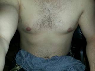 Just a quick self picture to show you all something besides a cock!  haha  What do you ladies think!?