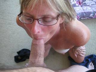 Love those little titties jigglin when she is jackin u. She is a real cock connoisseur. ( btw,That is a beautiful cock!
